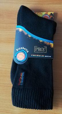 Зимни чорапи за диабет, мъжки термо чорапи