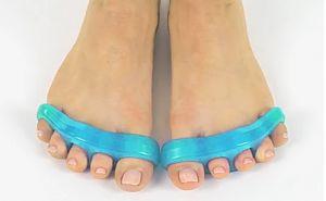 Silicon toe separator